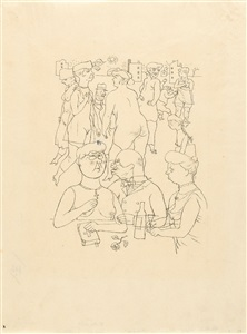 artwork by george grosz