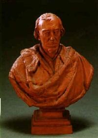 disraeli, a bust by mario raggi