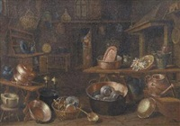 interno di cucina by giovanni domenico valentino