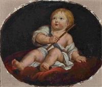 kleinkind mit flöte by anonymous (18)