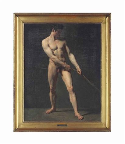 homme debout by théodore géricault