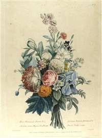bouquet floral by louis charles ruotte