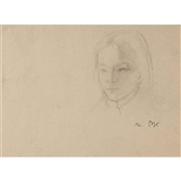 portrait de micheline by balthus