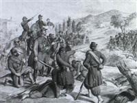 schlachtenszene by victor (count) odeschalchi