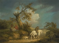 the storm by george morland
