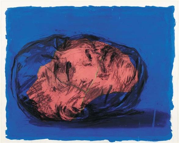 untitled head by william kentridge