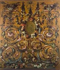 alegoría del fuegocio nuevo de madrid by jose del castillo y guillermo de anglois