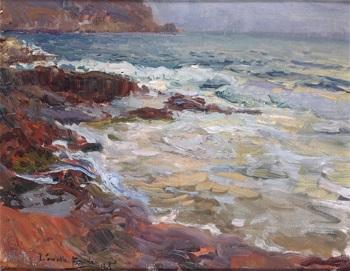 mar de javea by joaquin sorolla y bastida