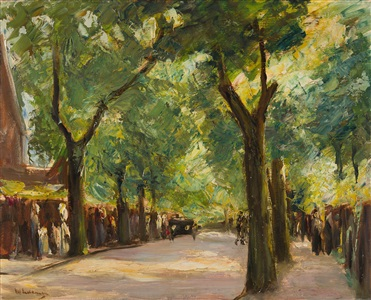 artwork by max liebermann
