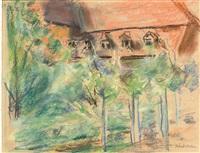 die villa oppenheim in wannsee by max liebermann
