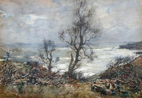 kettlenest runswick bay by frederick william jackson