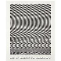 exhibition at richard feigen gallery, new york by bridget riley