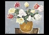 flowers in the vase by chikuma suzuki