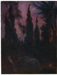 oasis de nuit by albert besnard