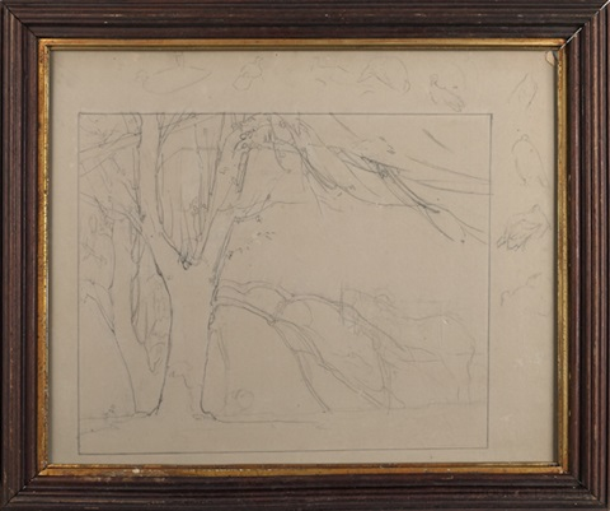 landscape study by daniel garber