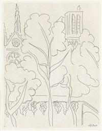 la cité--notre dame (from paris 1937) by henri matisse