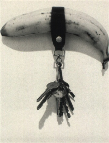 banana with keys by robert mapplethorpe