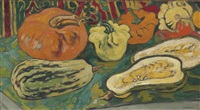 nature morte au potiron by louis valtat