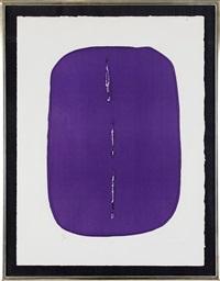 incisioni originali: one plate by lucio fontana