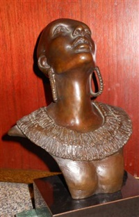 ethiopian woman by tina allen