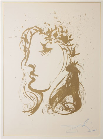 beatrice by salvador dalí