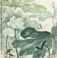 lotus by xia huiying