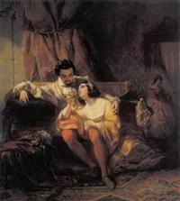 de geliefden by joseph henri françois van lerius