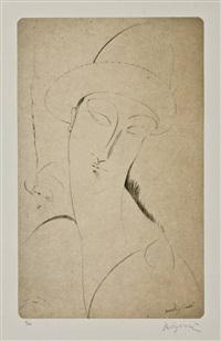 figura femminile by amedeo modigliani