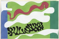 le lagon (from jazz) by henri matisse