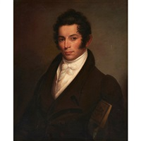 portrait of david hull by rembrandt peale