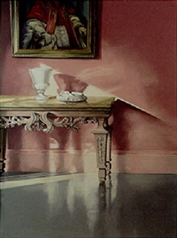 table in an interior by max kreyn
