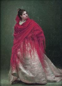 dama con mantón by domingo garcia diaz