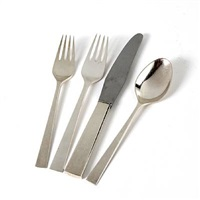 cutlery (28 works) by georg jensen (co.)