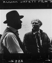 photo-edition (new york 1979) by joseph beuys and andy warhol