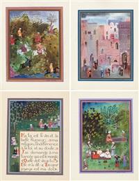 omar khayyam (portfolio of 17) by alexandra exter