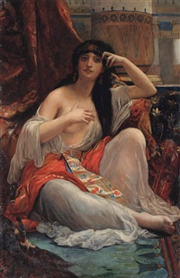 the sulamite by alexandre cabanel