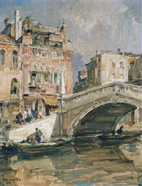 ponte delle guglie by angelo brombo