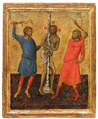 geißelung christi by simone martini