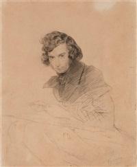 portrait of apollon nikolaevich mokritski by karl pavlovich bryullov