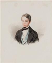 portrait of alexander mordvinov by vladimir ivanovich hau