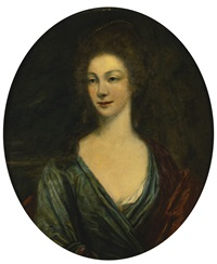 portrait of lady greville by thomas gainsborough