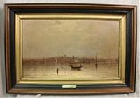 boston harbor by francis snowe