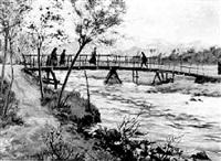 ponte sul fiume by arnoldo soldini
