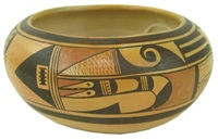 hopi bowl by fannie nampeyo
