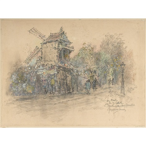 le moulin de la gallette by george wharton edwards