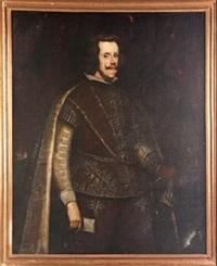 retrato de felipe iv by diego rodríguez de silva y velásquez