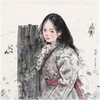 西藏少女 by ai xuan