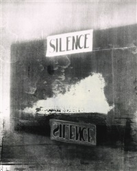 silence (the electric chair) by christian marclay