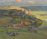 die willibaldsburg by ernst liebermann