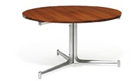 dining table by preben fabricius